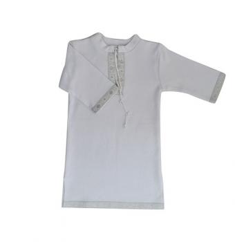 betis Крестильная рубашка для мальчика BetiS Кристиан-2, интерлок, р.86, белый (27069031)