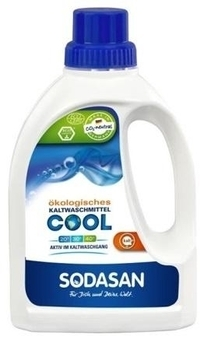Органическое жидкое средство Sodasan Cool для быстрой стирки в воде, 750 мл Sodasan