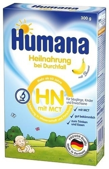 Сухая молочная смесь Humana HN mit MCT c пребиотиками, 300 г Humana