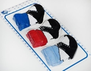 Набор носков для мальчика Melix, ластик, р.6-8, 3 пары (91581-2) Melix