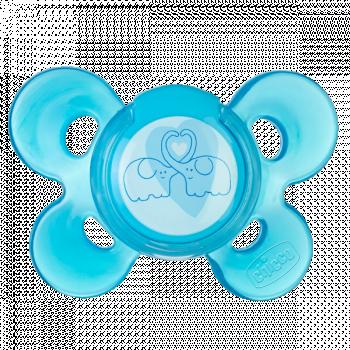 Силиконовая пустышка Chicco Physio Comfort (6-12 мес.), голубой Chicco