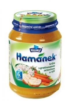 Пюре Hame индейка с овощами и рисом, 190 г Hame