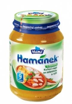 Пюре Hame куриное рагу с рисом и овощами, 190 г Hame