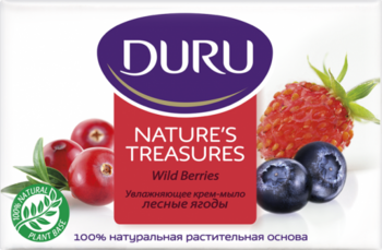 Мыло Duru Nature's Treasures Лесные ягоды, 90 г