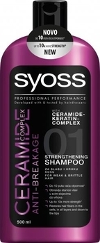 Шампунь Syoss Ceramide Complex Anti-Breakage, 500 мл