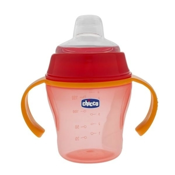Чашка для прогулок Chicco Soft Cup, красный Chicco