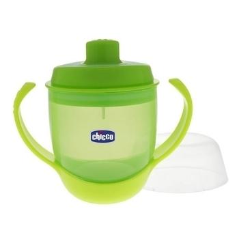 Чашка непроливная Chicco Meal Cup, зеленый Chicco