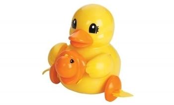 Интерактивная игрушка TOMY Мамы с малышами, Утята (6502) TOMY