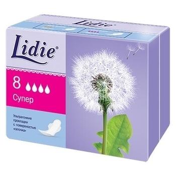 Прокладки Lidie Ultra Super, 8 шт. Lidie