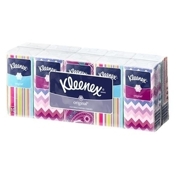 Носовые платочки Kleenex Original, 10 шт. Kleenex