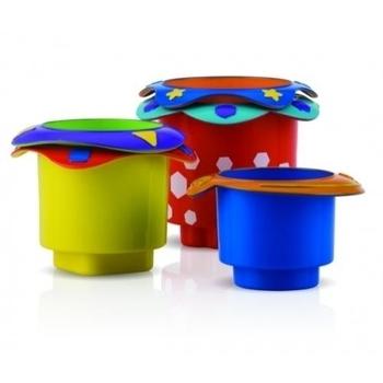 Формочки для игр в ванной Nuby, 5 шт. Nuby