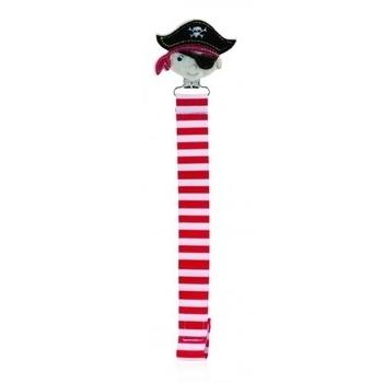 Клипса для пустышек Nuby Пират с лентой (5830pirat) Nuby