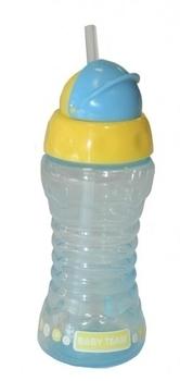 Поильник для путешествий с трубочкой Baby Team, 270 мл, голубой (5005) Baby Team