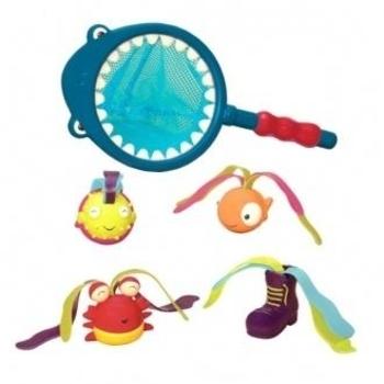 Купить со скидкой Игровой набор Battat для игр в ванной Накорми Акулу (BX1521Z)