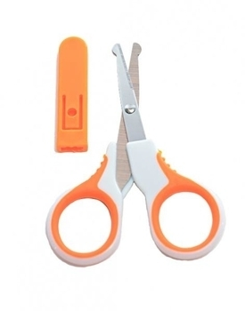 Ножницы детские с чехлом Baby Team, оранжевый Baby Team