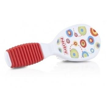 Гребешок и щеточка для волос Nuby De Luxe, красный (711red) Nuby