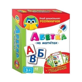 Абетка Vladi Toys, на магнитах (укр.) (VT1502-03) Vladi Toys