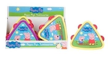 Купить:  Музыкальная игрушка Peppa Тамбурин, фиолетовый (1383265) Peppa