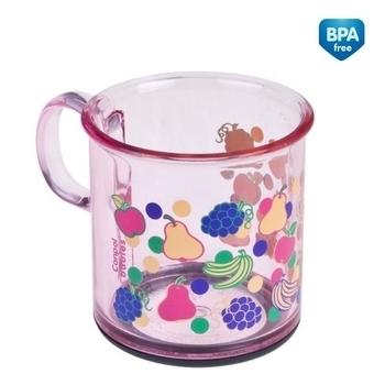 Чашка нескользящая Canpol Babies, 170 мл, розовый (2/100) Canpol babies