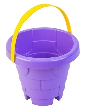 Ведро для песка Tigres Башня, фиолетовый (39281) Tigres