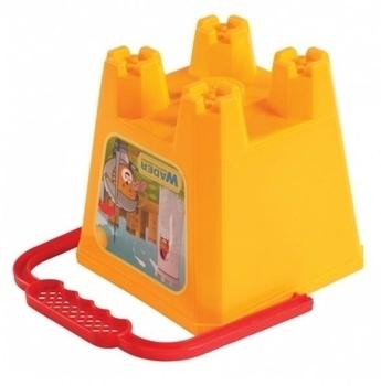 Ведро для песка Tigres Замок, желтый (39021) Tigres
