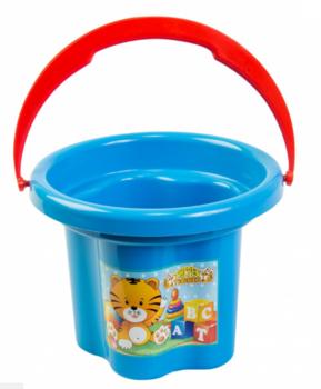 Ведро для песка Tigres Цветочек, голубой (39019) Tigres