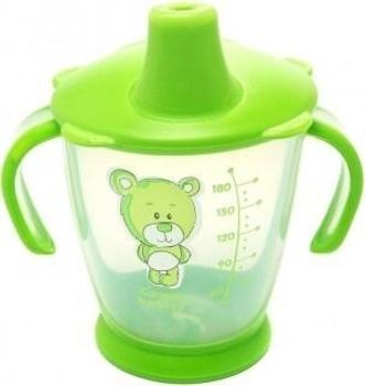 Чашка-непроливайка Canpol babies Друг медвежонок, 180 мл, зеленый (31/500) Canpol babies