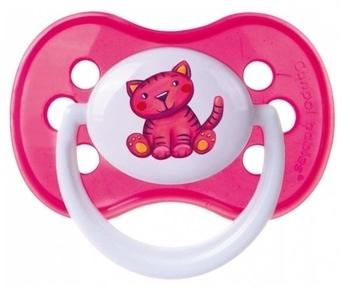 Силиконовая симметричная пустышка Canpol Babies Milky (от 0 мес.), розовый (22/541) Canpol babies