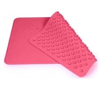 Противоскользящий коврик Canpol в ванну большой, 34х55 см, розовый (9/051) Canpol babies