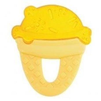 Зубное охлаждающее кольцо Chicco Мороженое, желтый (71520.20) Chicco