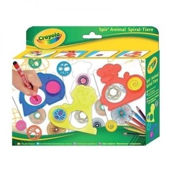 Набор для творчества Crayola с карандашами и трафаретами (5452) Crayola