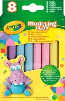 Незасыхающий пластилин Crayola пастельных оттенков (57-0311) Crayola