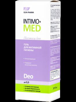 Гель для интимной гигиены Intimo+med Deo, 200 мл Intimo+med