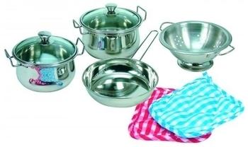 Набор посуды Bino нержавеющий, 8 элементов Bino