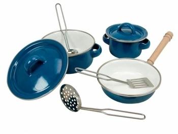Набор посуды Bino эмалированный, 8 элементов Bino