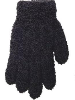 yo! Махровые перчатки для мальчика YO! однотонные, р. 14, серый (R-203/BOY/14)