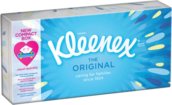 Салфетки Kleenex Original в коробке, 70 шт. Kleenex
