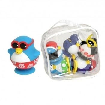 Игровой набор для ванной Water Fun Пингвины на пляже, 6 шт. Water Fun