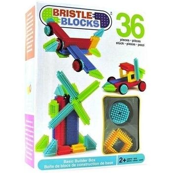 Конструктор-бристл Battat Bristle Blocks Строитель, 36 деталей, в коробке Battat