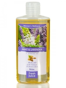 Масло для ухода и массажа Fresh Juice Mint & Lavender + Almond oil, 150 мл Fresh Juice