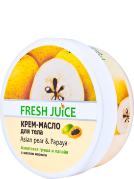 Крем-масло для тела Fresh Juice Asian Pear & Papaya, 225 мл Fresh Juice
