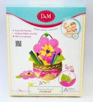 Набор Шьем кармашек из фетра D&M Цветок D&M