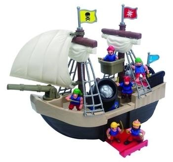 Игровой набор Redbox Пиратский корабль, 23 детали Redbox