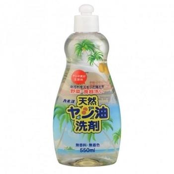 Средство для мытья посуды, овощей и фруктов Kaneyo с натуральным пальмовым маслом, 550 мл Kaneyo