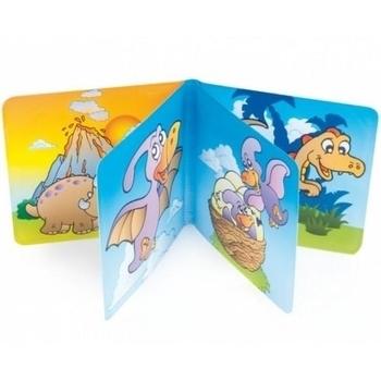 Мягкая книжка с пищалкой Canpol babies Динозавры Canpol babies