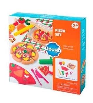 Набор для лепки PlayGo Пиццерия, 3 цвета (8582) PlayGo