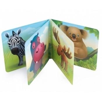 Мягкая книжка с пищалкой Canpol babies Сафари Canpol babies