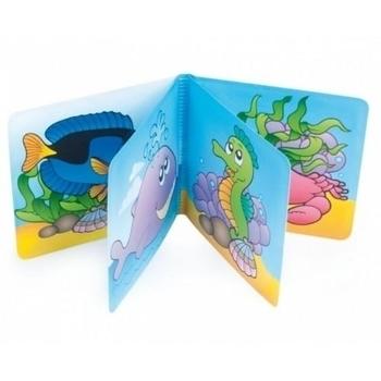 Купить со скидкой Мягкая книжка с пищалкой Canpol babies Морские жители
