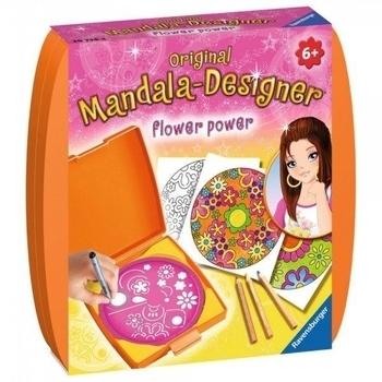 Набор для творчества Ravensburger Мини Мандала: Сила цветов Ravensburger