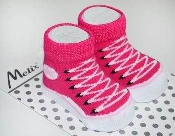 Носки для девочки Melix, 0-6 мес., малиновый (91666) Melix